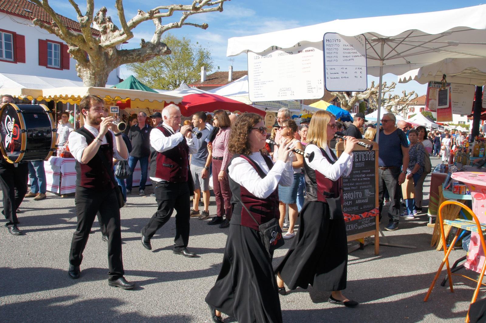 26-27 octobre 2019 – Le bagad Boulvriag à la fête du piment d'Espelette