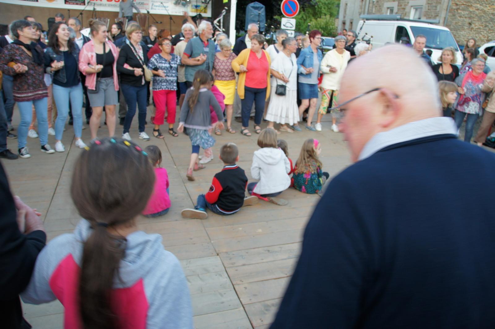 Le bagad Boulvriag au pardon de Wourc'h 2019