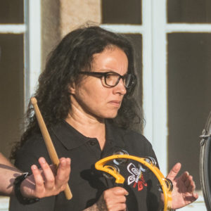 Catherine Ablain (percussions)