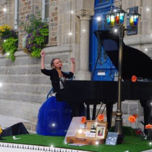 Caroline Faget, Piano voyageur